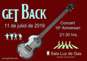 Cartell Get Back 2019